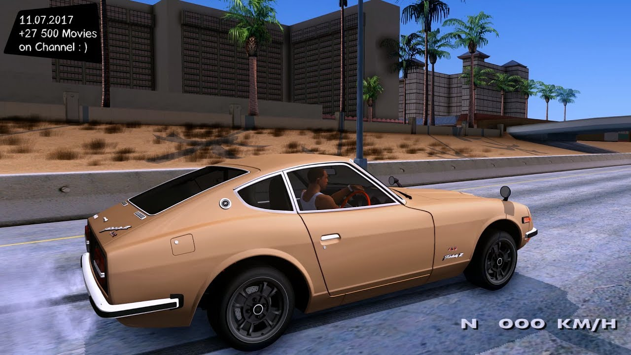 1969 Nissan Fairlady Z 432 Stock New Enb Top Speed Test Gta Mod Future