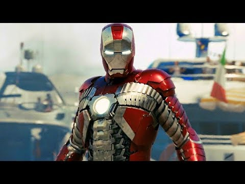 Iron Man vs Ivan Vanko (Whiplash) - Monaco Fight Scene - Iron Man 2 (2010) Movie CLIP HD