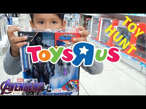 Marvel Avengers End Game Toy Hunt At Toys R Us