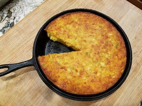 MEXICAN CORNBREAD | JANET'S SIDES | CAST IRON SKILLET