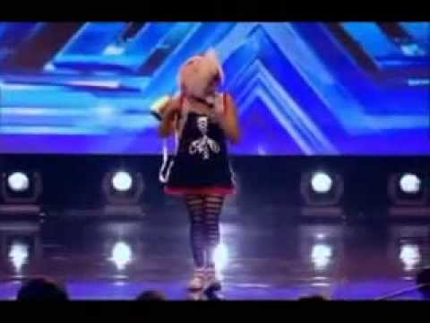 Cheerful JAMAICAN WOMAN Excites XFactor Singing Bob Marley