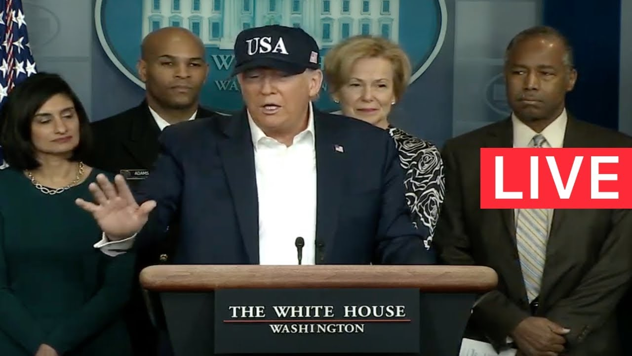 ?LIVE: Trump URGENT White House Press Conference from the Briefing Room