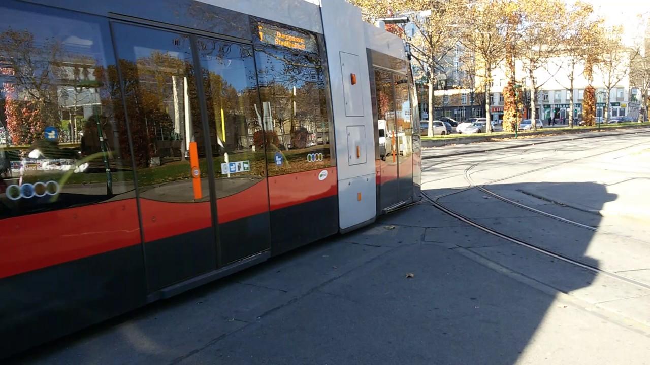 Straßenbahn Linie 6 Westbahnhof In Wien1 Youtube
