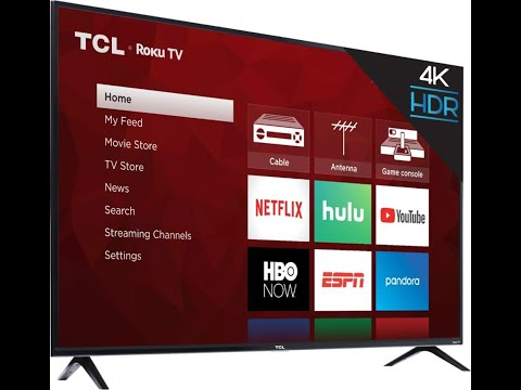 """TCL 65"""" 4K UHD TV Unboxing and Mounting"""