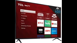 Tcl 65 4k Uhd Tv Unboxing And Mounting Youtube