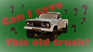 So you want to fix up a rare old truck? - J-Fawkit Jeep J10 Episode 1