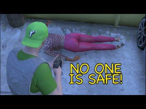 GTA V: [ONLINE] NO ONE IS SAFE!