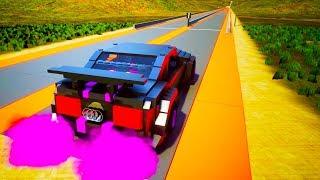 Lego High Speed Crashes #5   Brick Rigs