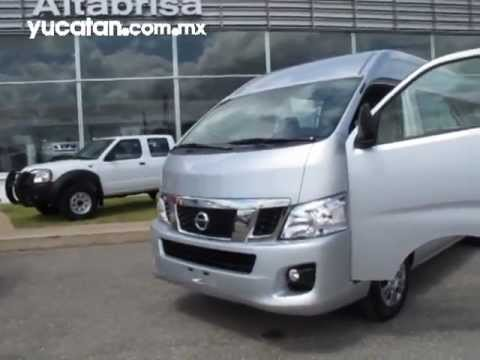 Presentan la Nissan NV350 Urvan 2014 - YouTube