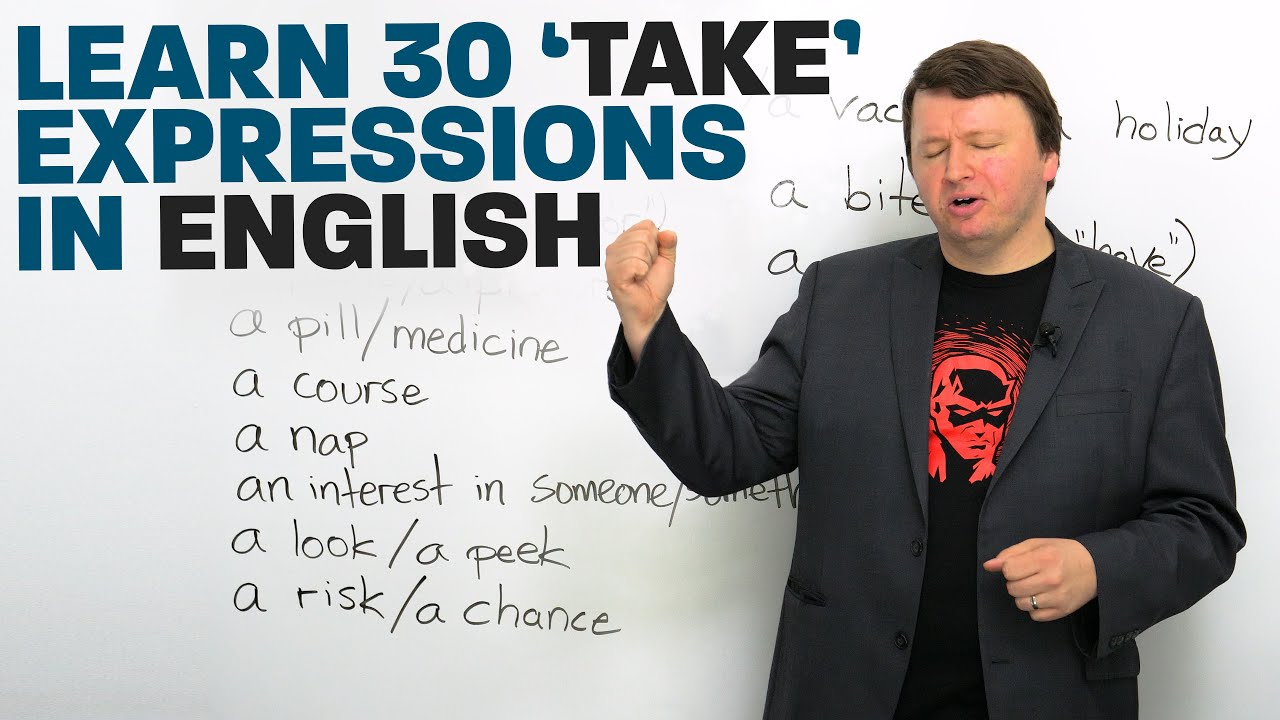 "30 ""TAKE"" Phrases in English"