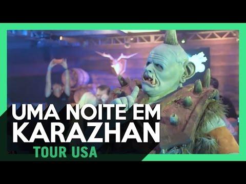 198/ UMA NOITE MÁGICA EM KARAZHAN ! ( HEARTHSTONE NOS EUA ! )