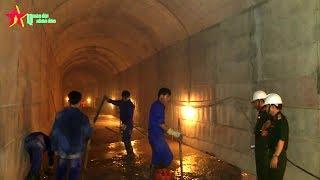 Công binh Việt Nam đào hầm phòng thủ xuyên núi