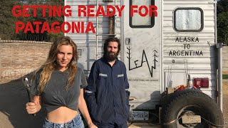 Getting our 4x4 TRUCK CAMPER ready for PATAGONIA - South America Adventure