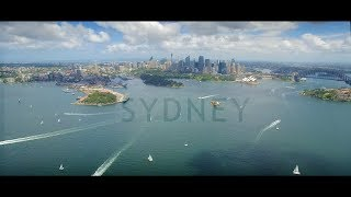 Travel Sydney in a Minute - Hyperlapse Drone Video