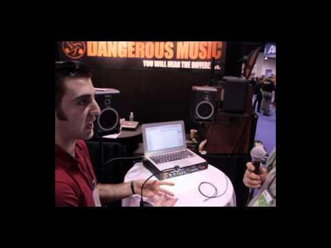 Source - USB Monitor Controller from Dangerous Music - Namm 2012