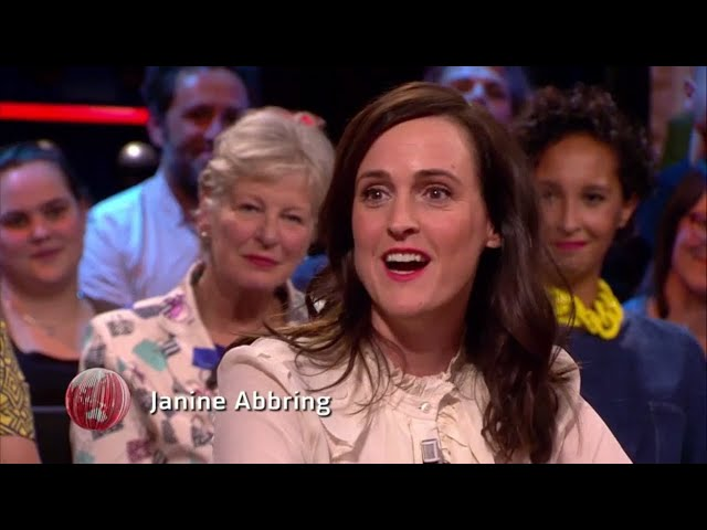 Janine Abbring wint Sonja Barend Award 2017