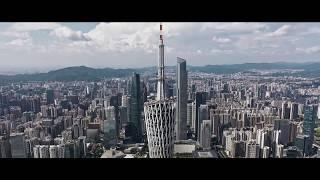 Canton Tower Aerial Video - Canton Tower, Guangzhou TV Tower, Guangzhou CBD Show