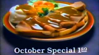Sambo's Restaurants 1979 TV commercial