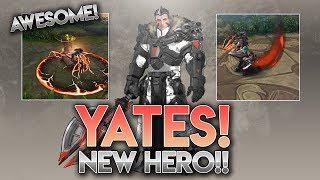 NEW HERO YATES [Trailer + Abilities]!! Vainglory News [Update 3.7]