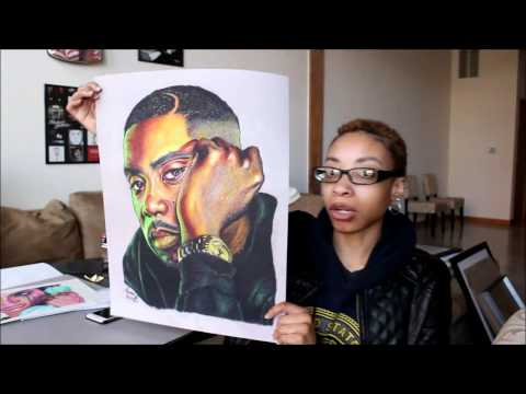 Artorials: How To Scan Large Drawings For Prints Using Photoshop