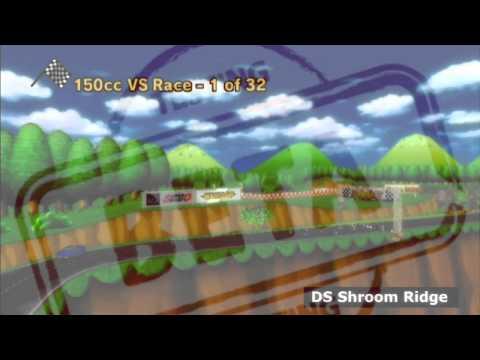 Mario Kart Fan Music -BETA DS Shroom Ridge- By Panman14