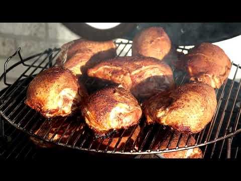 Weber Smokey Mountain | Chicken Breasts | Boneless | Bone-in