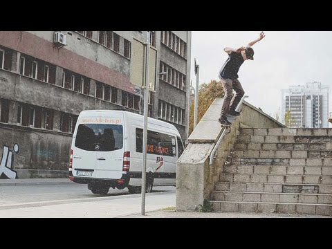 Youth Skateboards Marcin Myszka ~ YTH (part 4/14)