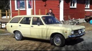 Sunbeam 1600 / Hillman Avenger start up 2013