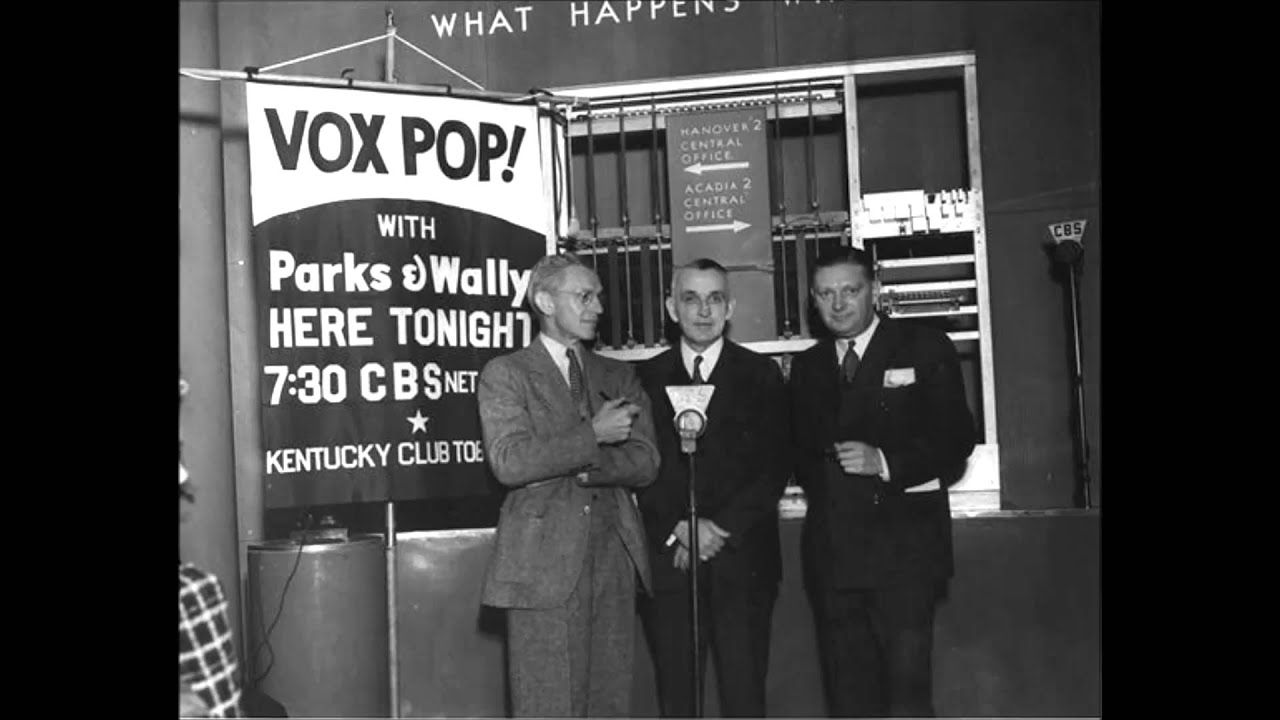 Image result for vox pop 1935