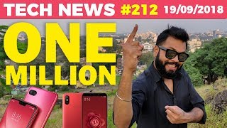 OnePlus 6T, Mi 8 Lite, Nokia 7.1 Plus, Mi A2 Red, Pixel 3 XL, Jio's Growth, 1 MILLION-TTN#212