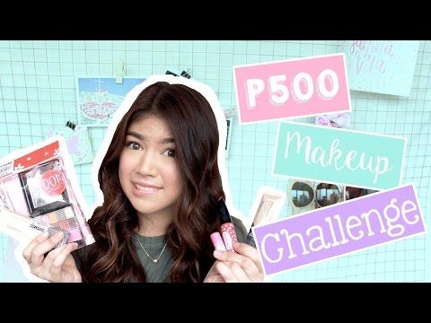 500 Pesos Makeup Challenge   Janina Vela