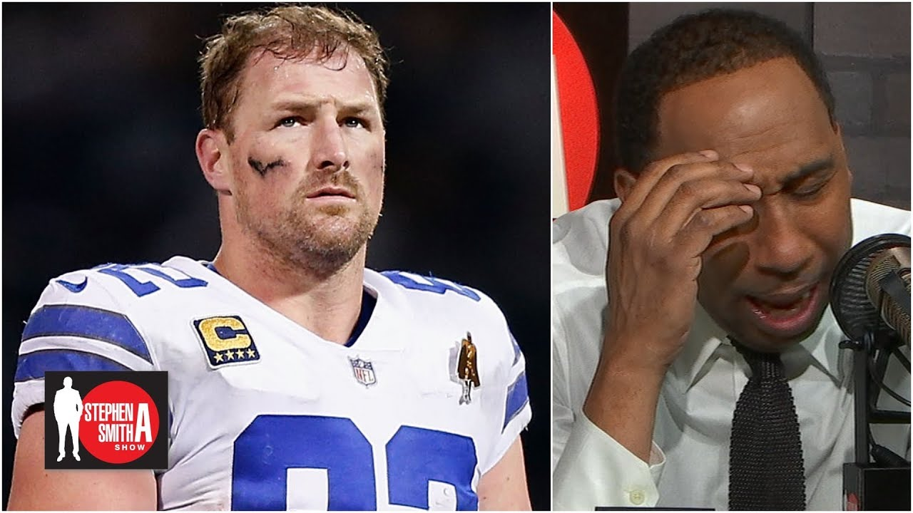 a91bc262784 Stephen A. weeps over Jason Witten re-joining the Cowboys l Stephen A.  Smith Show