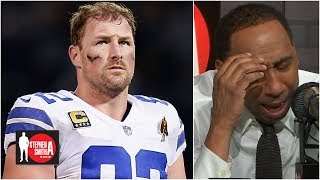 Stephen A. weeps over Jason Witten re-joining the Cowboys l Stephen A. Smith Show