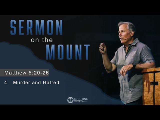 Murder and Hatred: Matthew 5:17-26