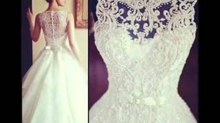Фото идеи для свадебных платьев со спины(https://www.youtube.com/channel/UCZuJbMAmzMZxmPKPKXfenXA Подписывайтесь на наш канал., 2014-12-24T11:56:42.000Z)