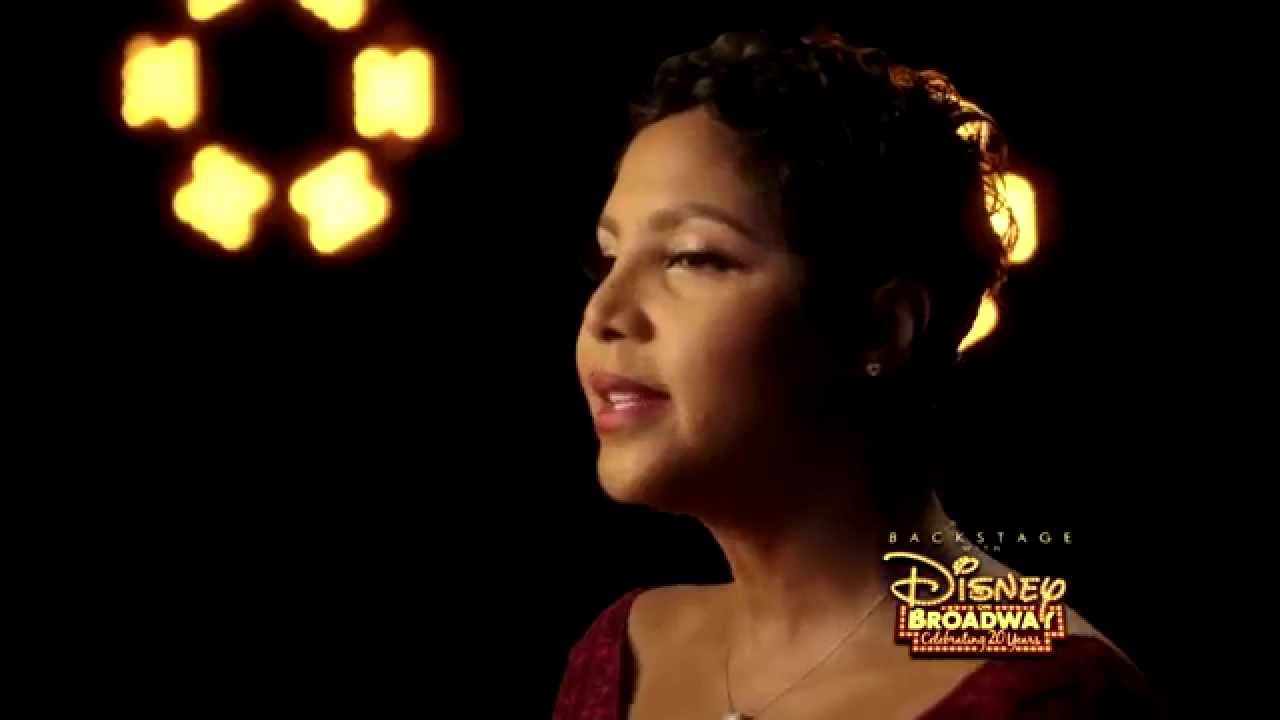 Toni Braxton | Backstage with Disney On Broadway: Celebrating 20 Years