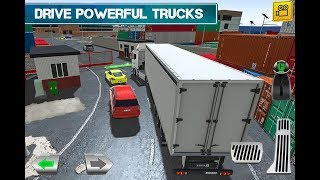 Cargo Crew: Port Truck Driver (By Play With Games) Gameplay HD HD