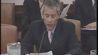 Joint Hearing on the Social Security Backlogs, Dan Bertoni Opening Statement