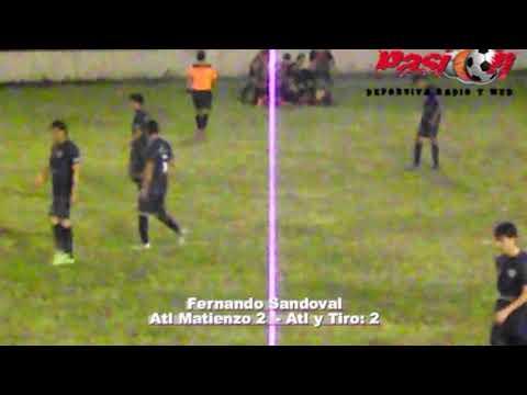goles Atl Matienzo vs Atl Y Tiro Apertura 2019