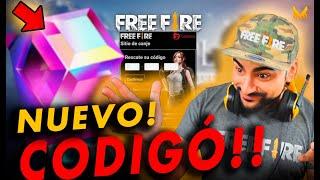 NUEVO CÓDIGO DE FREE FIRE OFICIAL!!