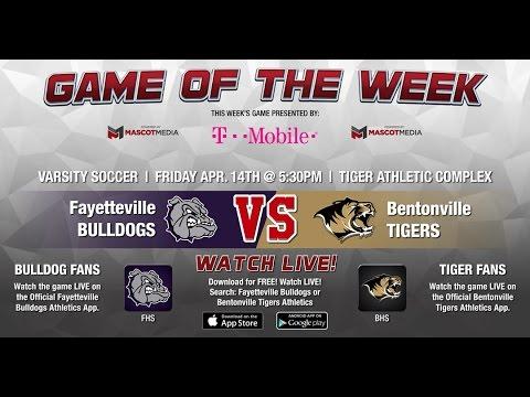 GOTW - Boys Soccer: Fayetteville at Bentonville 04-14-17
