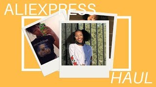 $200 SPENT ON ALIEXPRESS?! | HUGE Try-On Haul