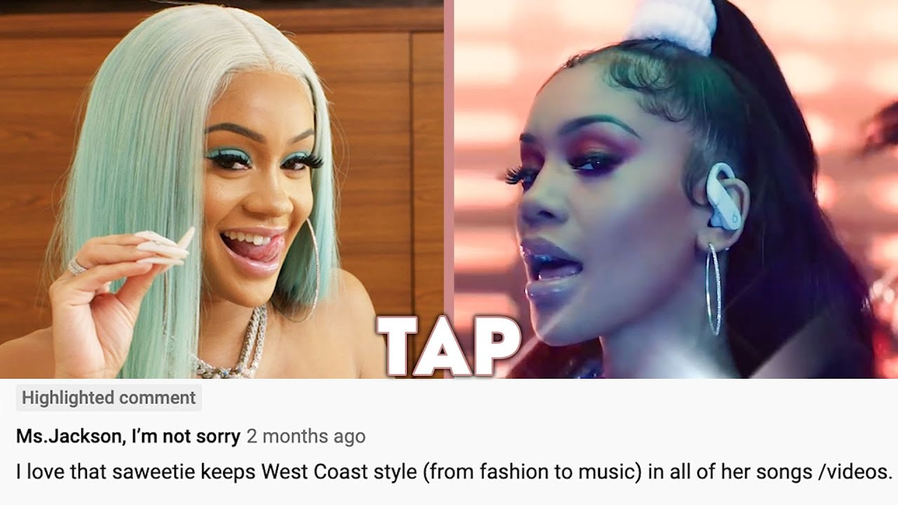 Saweetie Reacts to Comments on Her Music Videos | Teen Vogue