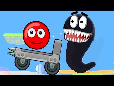 Красный Шарик и НОВЫЕ монстры - Red Ball только для детей! Серия 4