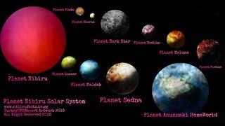 Zecharia  Sitchins's NIBIRU SOLAR SYSTEM - 2016 -NEW VERSION
