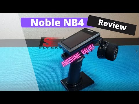Flysky Noble NB4 2.4 gHz Surface Radio Review