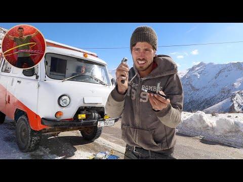 IRAN Van Life Issues - How Much Can Go Wrong In 2 Days? - Ep 214