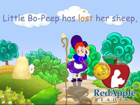 Level A - ABC / Nursery Rhymes Song/Video - Red Apple Reading