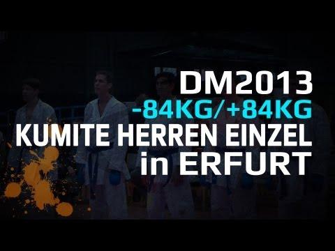 DM 2013 KUMITE HERREN EINZEL -84KG/+84KG KARATE