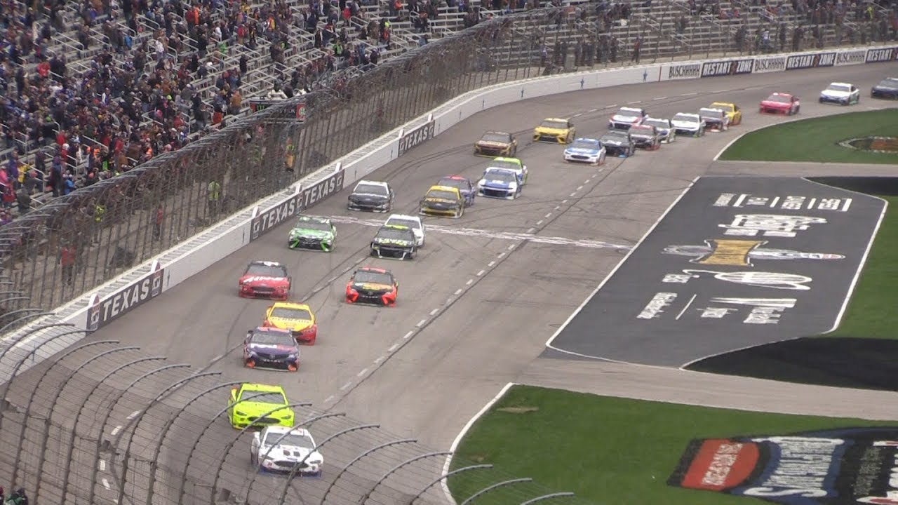 nascar at texas motor speedway live from the stands - april 2018 o